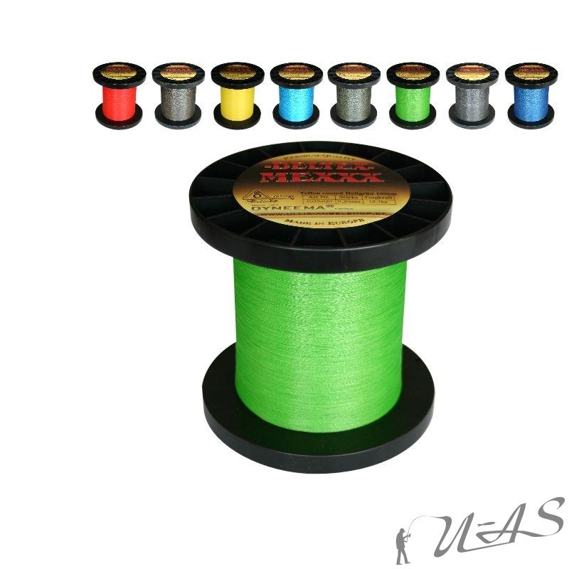 deltex mexxx hi tec dyneema teflon beschichtet rund 270 500 1000m freie farbwahl ebay. Black Bedroom Furniture Sets. Home Design Ideas