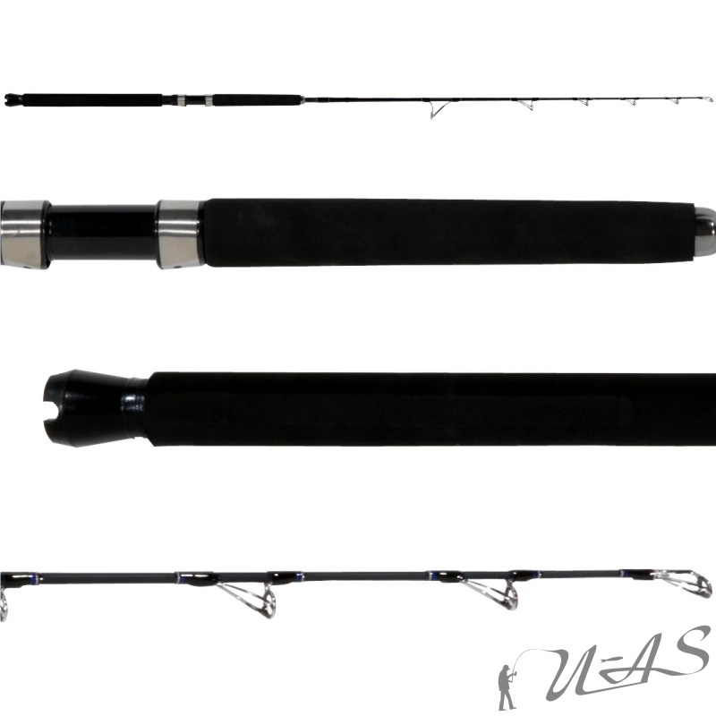 Soft-tailed Super Short Rute mit Carbon Stub Retractable Positioning Raft R C9Q6