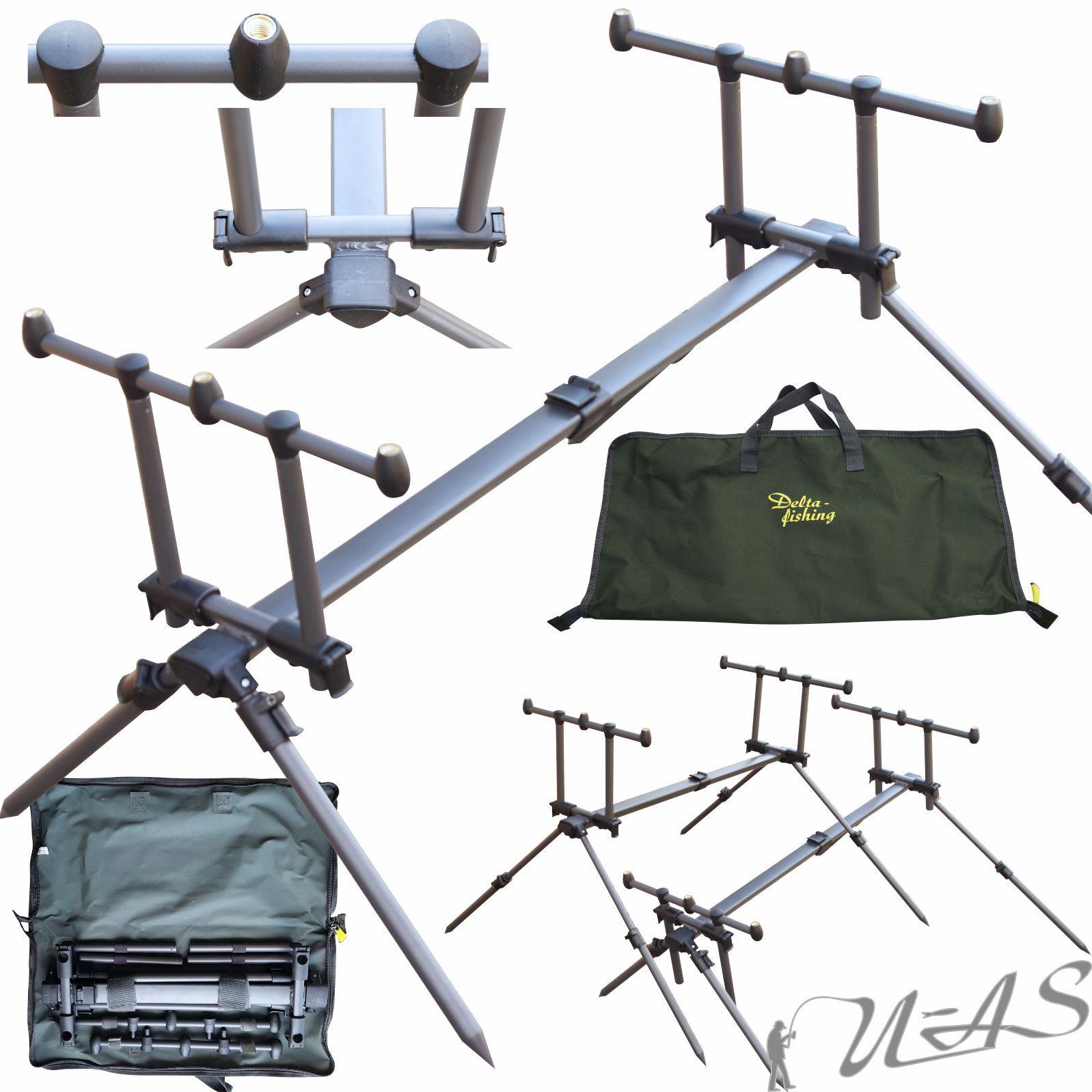 2-er Set JRC Chunky Stainless 3 Rod Heavy Buzzer Bar 30 /& 38 CM Edelstahl Ava
