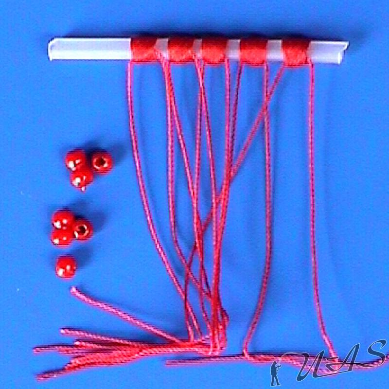 Perlen Posenstopper Stopper Balzer Schnurstopper S Ø 0,10-0,20mm 6 Stück
