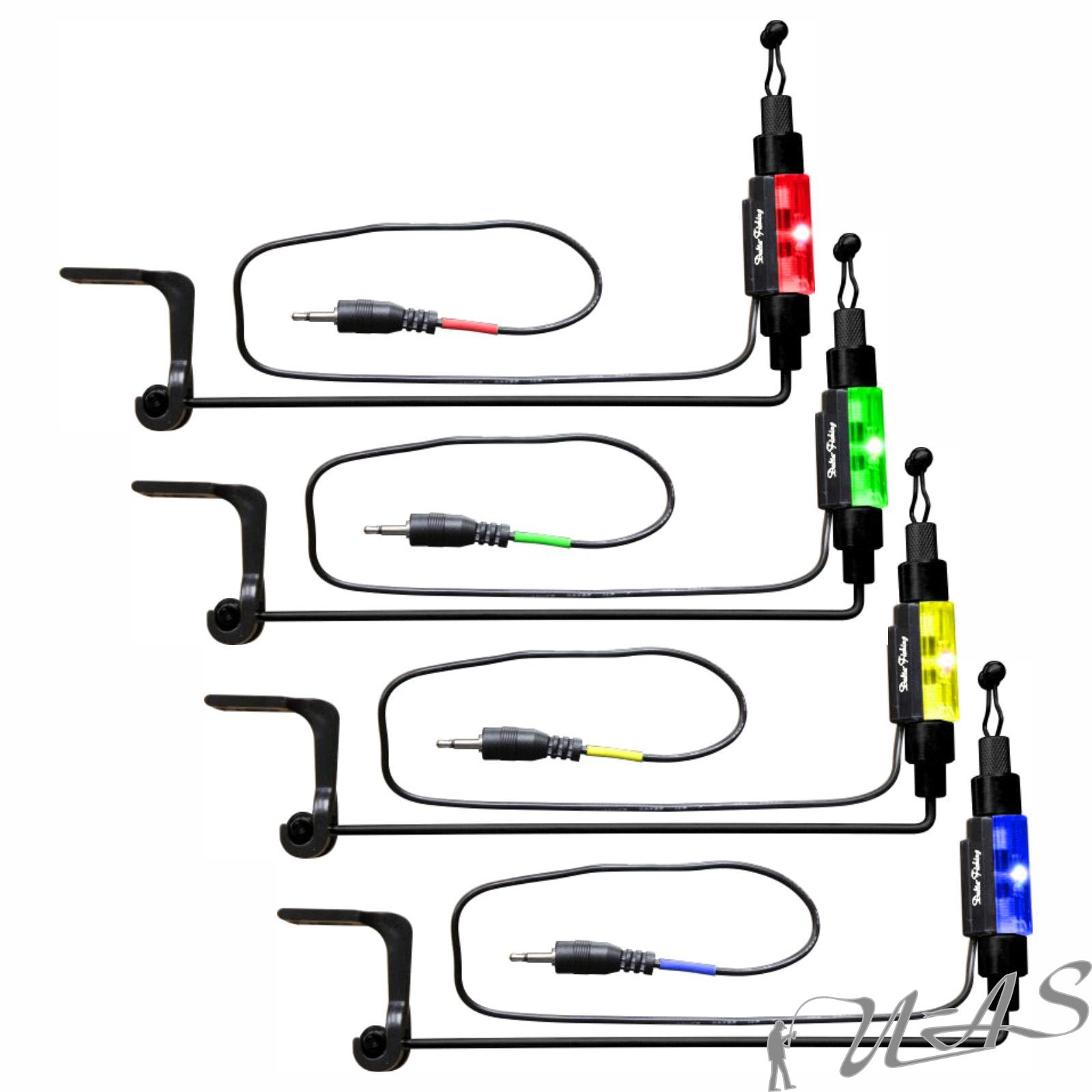 Delta Fishing 4 Bein Rod Pod Aluminium 360° Drehbar 3-4 Ruten Rutenständer Kva